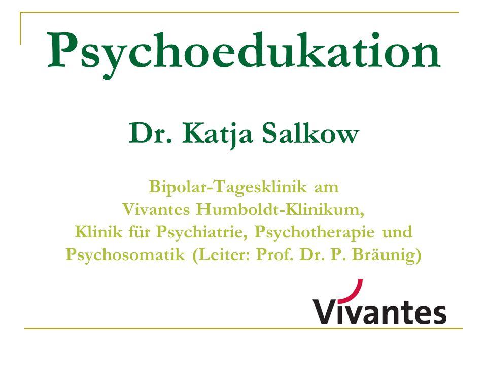 Psychoedukation Dr.