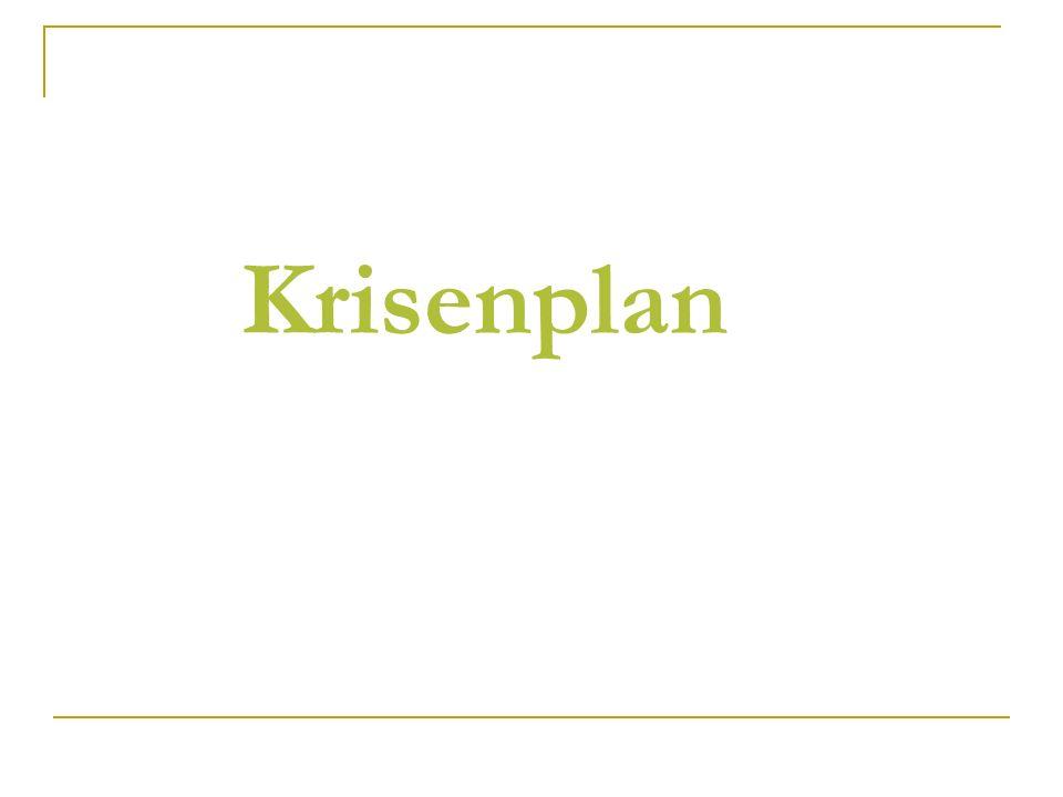 Krisenplan
