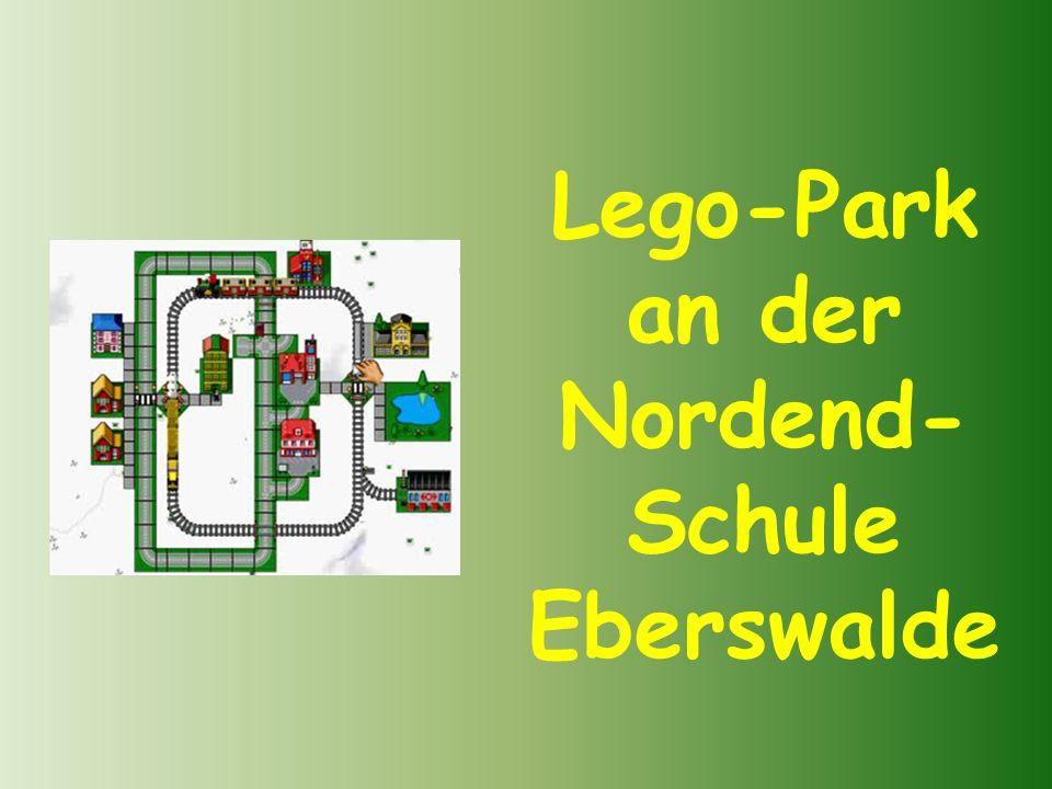 Lego-Park an der Nordend-Schule Eberswalde