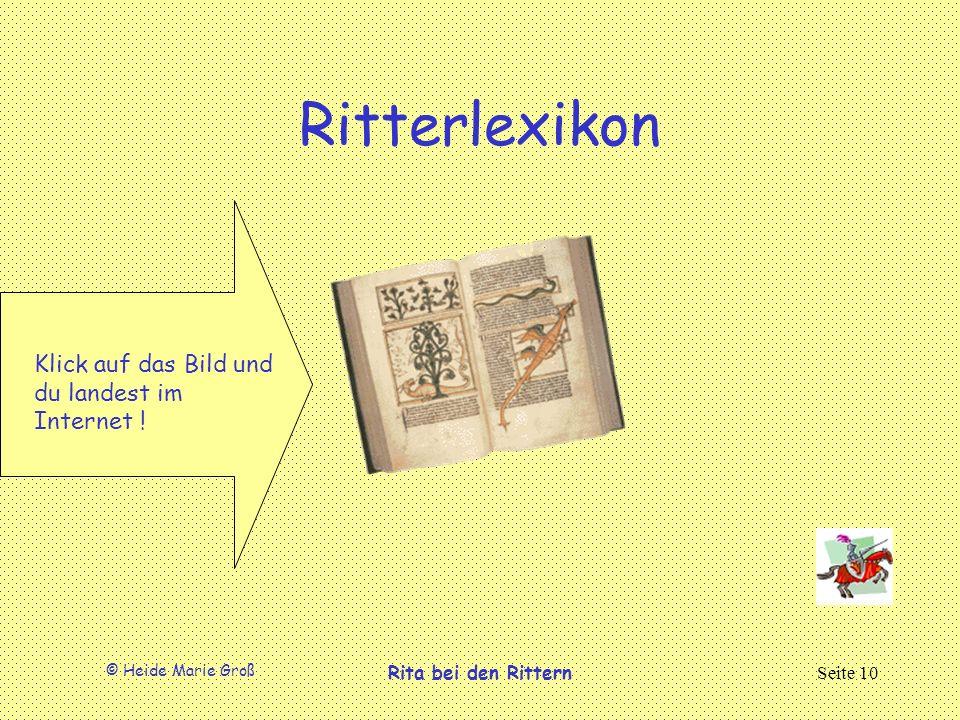Ritterlexikon Klick auf das Bild und du landest im Internet !
