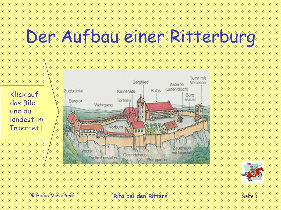 Der Aufbau einer Ritterburg