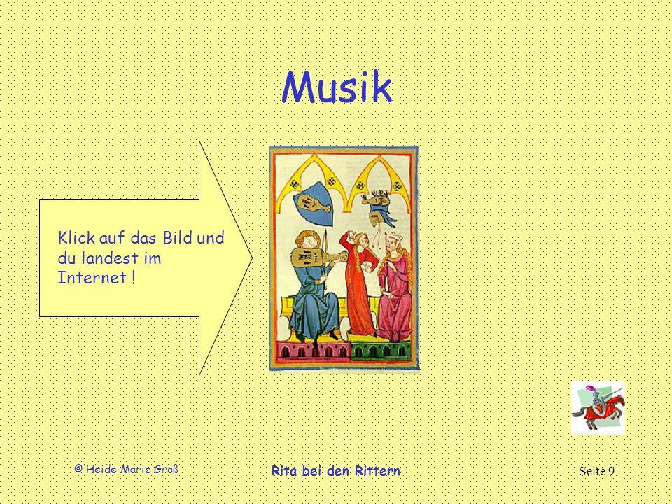 Musik Klick auf das Bild und du landest im Internet !