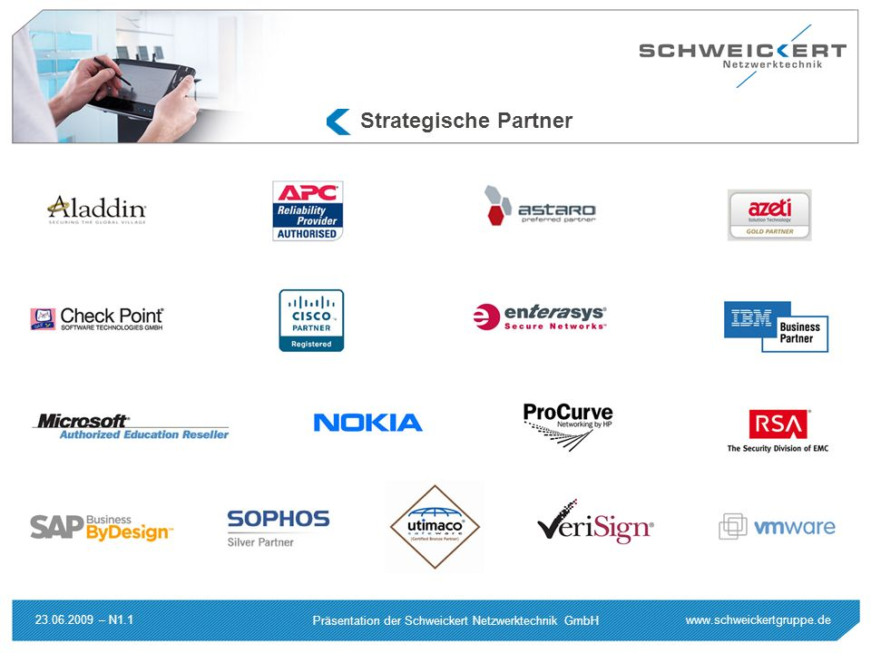 Strategische Partner 23.06.2009 – N1.1