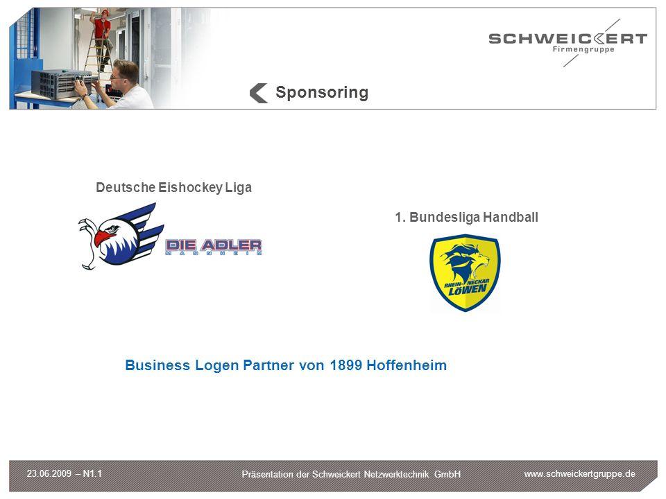 Sponsoring Business Logen Partner von 1899 Hoffenheim