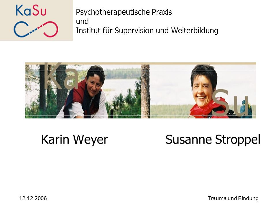 Karin Weyer Susanne Stroppel