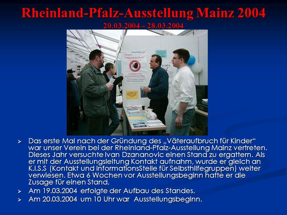 Rheinland-Pfalz-Ausstellung Mainz 2004 20.03.2004 – 28.03.2004