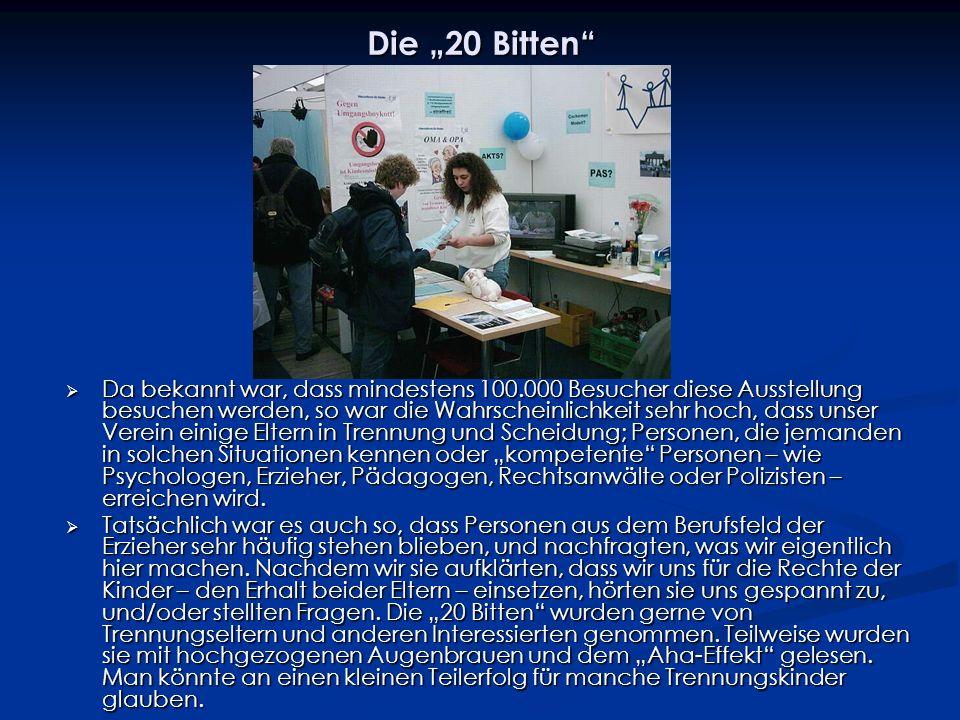 """Die """"20 Bitten"""