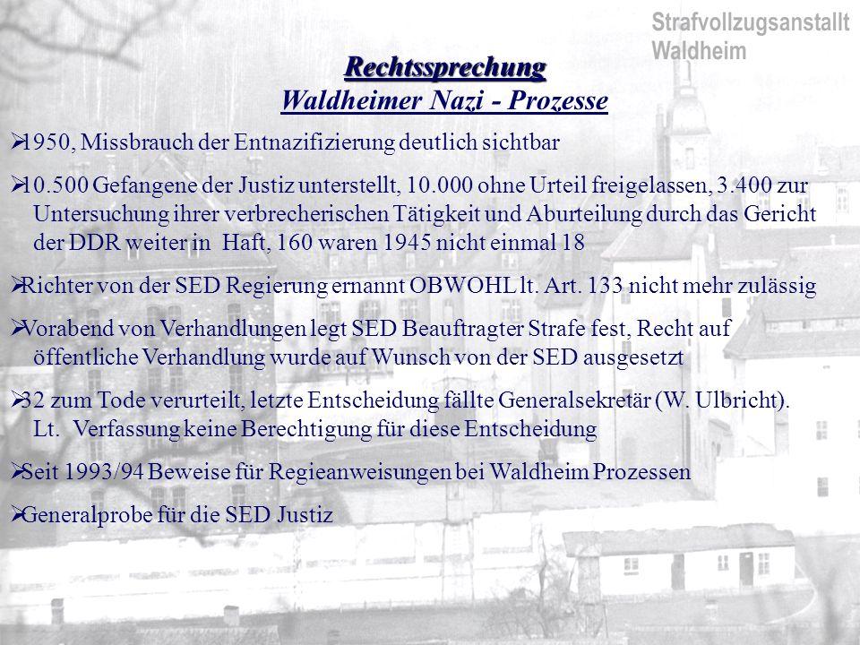Waldheimer Nazi - Prozesse