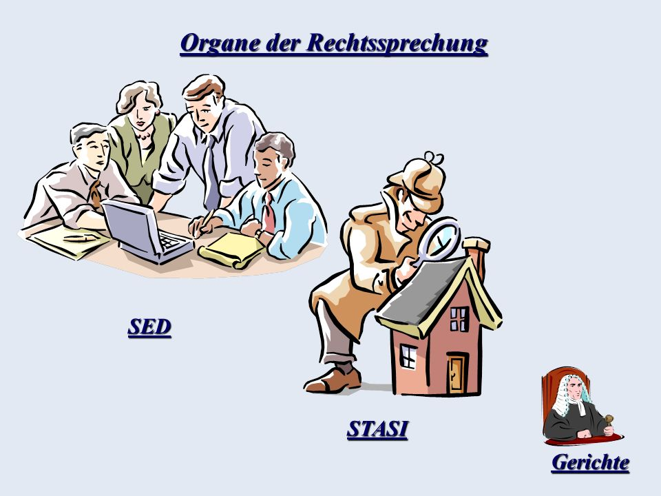 Organe der Rechtssprechung