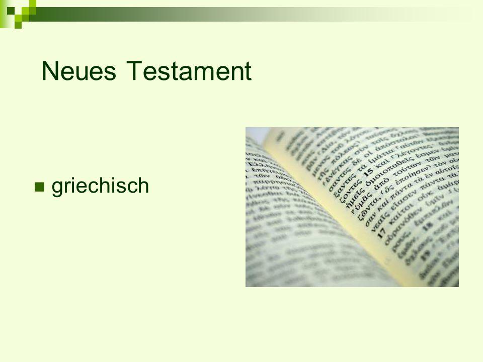 Neues Testament griechisch
