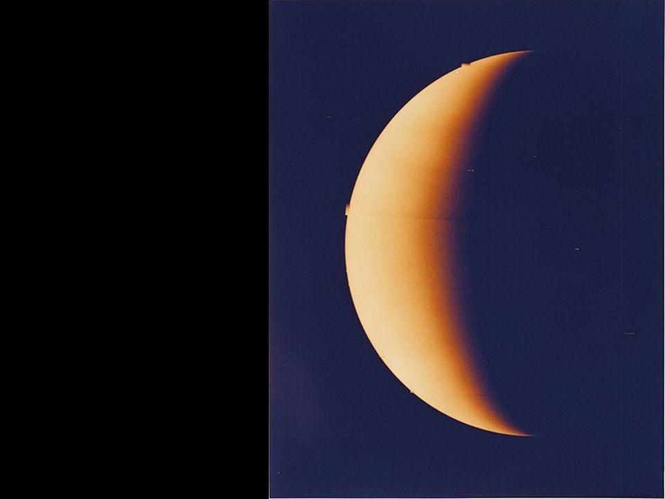 Es gibt eine Spekulation, dass es in der Venusatmosphäre Leben geben könnte.