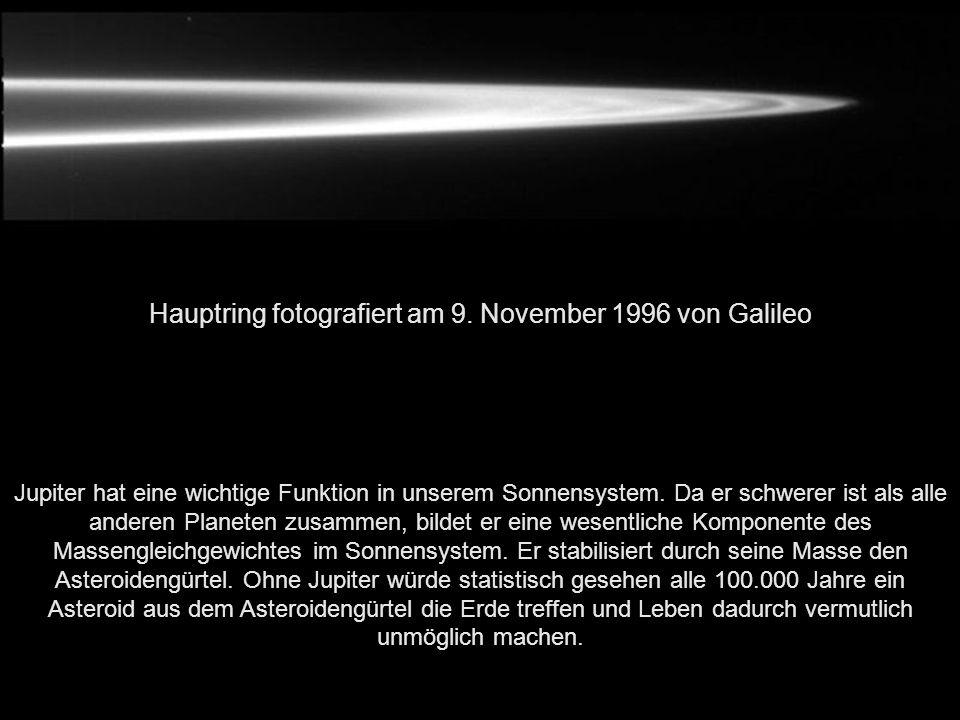 Hauptring fotografiert am 9. November 1996 von Galileo