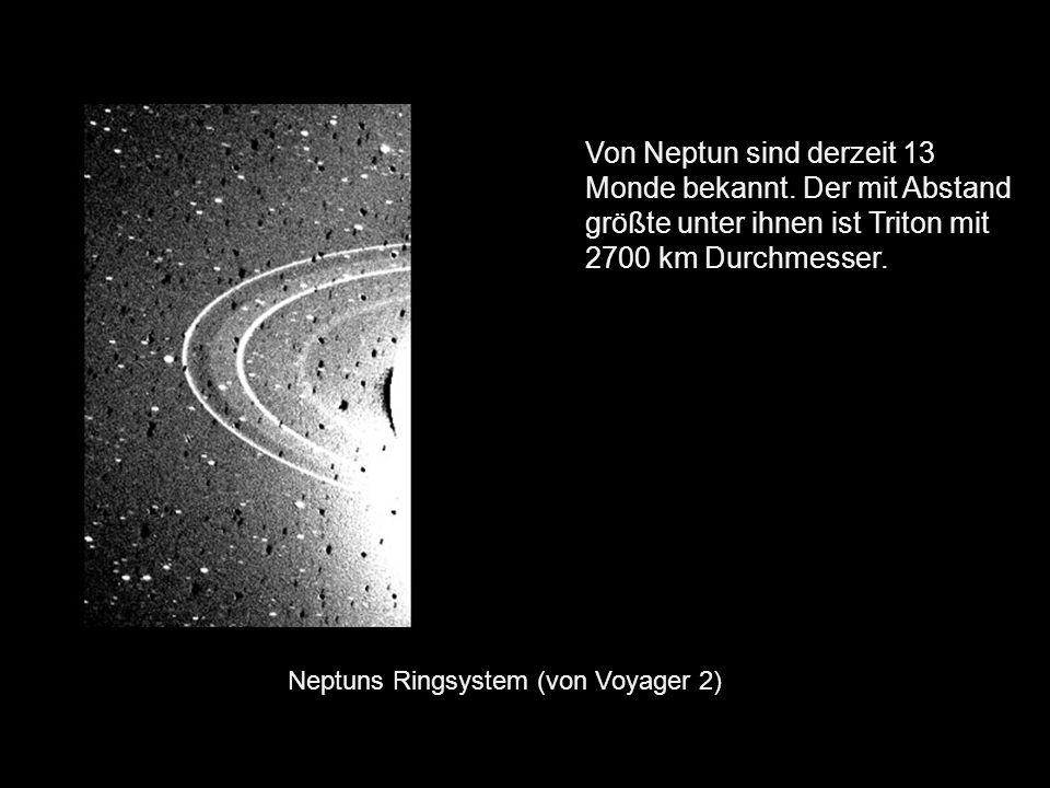 Von Neptun sind derzeit 13 Monde bekannt