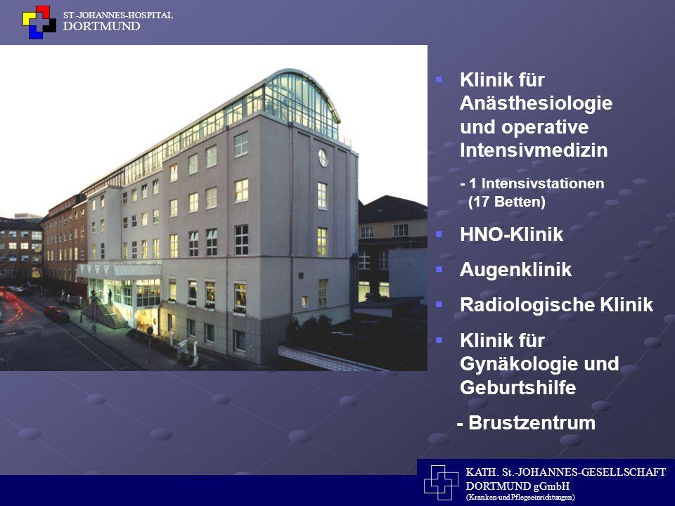 Klinik für Anästhesiologie und operative Intensivmedizin