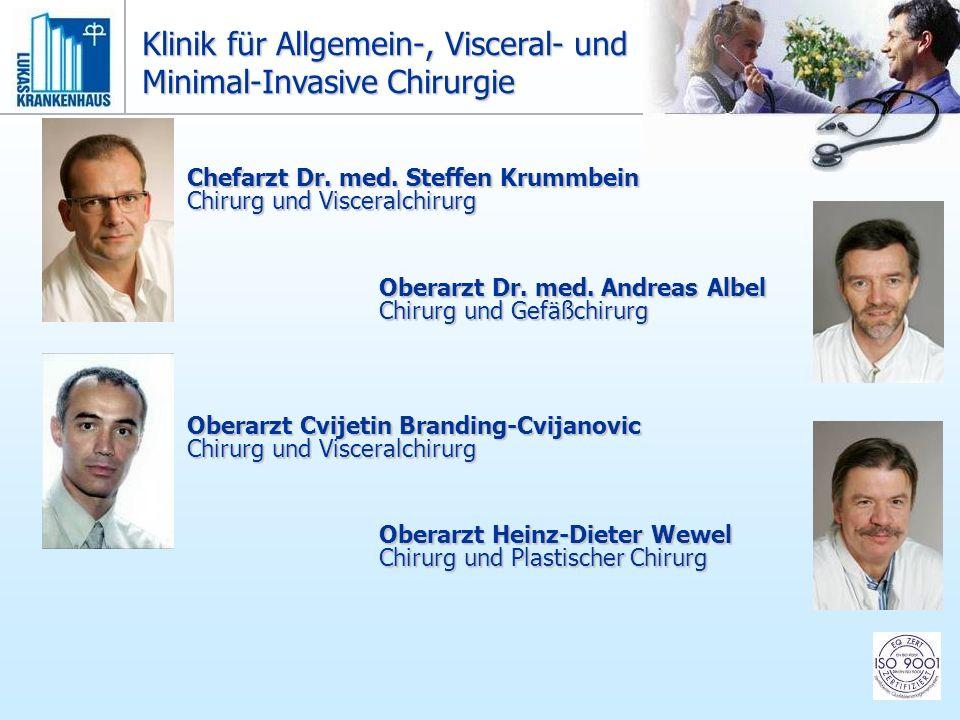 Klinik für Allgemein-, Visceral- und Minimal-Invasive Chirurgie