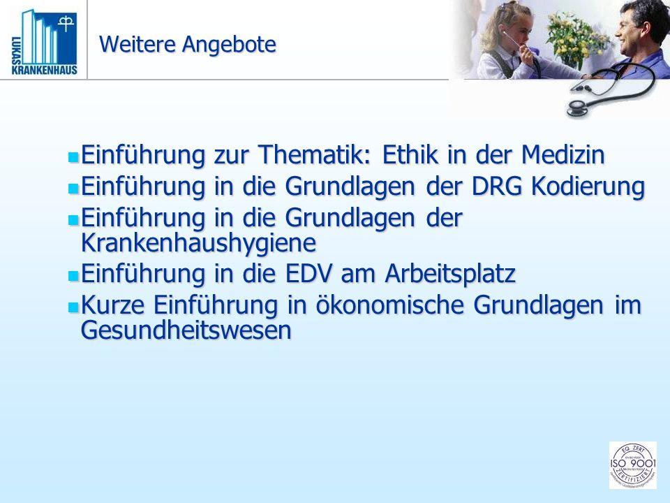 Einführung zur Thematik: Ethik in der Medizin