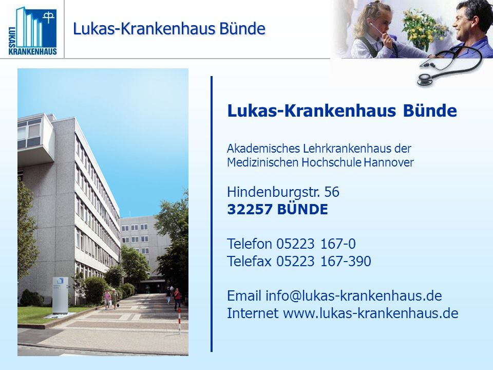 Lukas-Krankenhaus Bünde