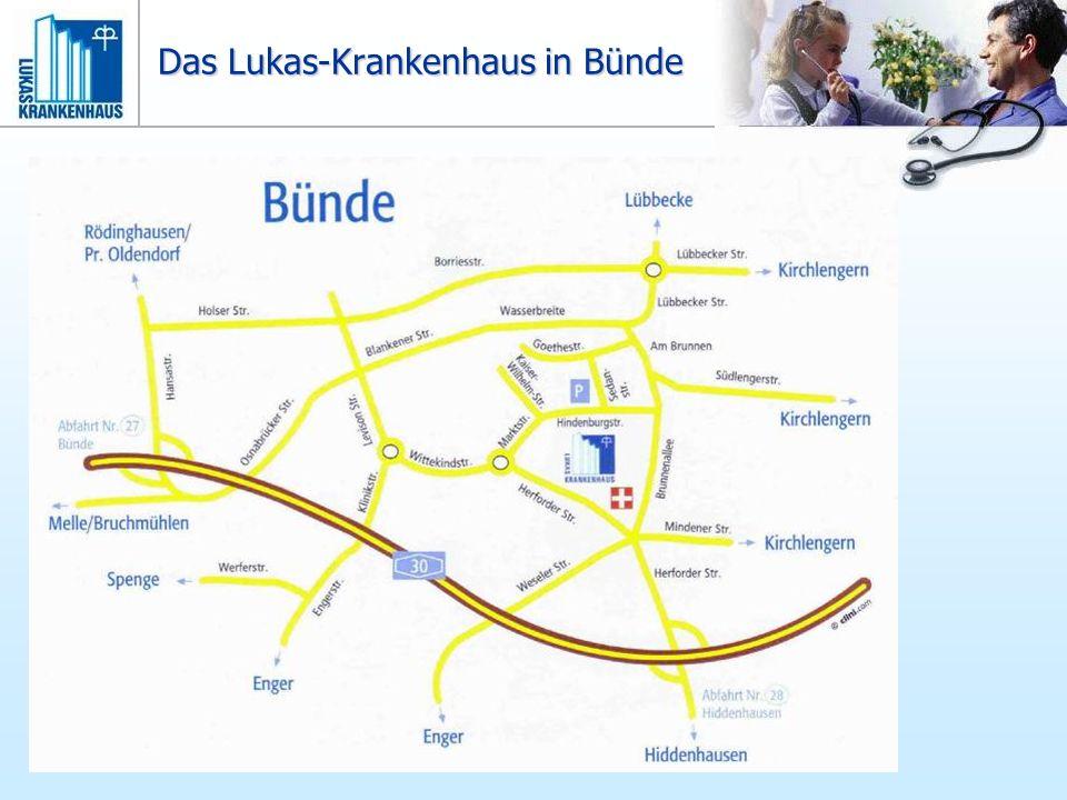 Das Lukas-Krankenhaus in Bünde