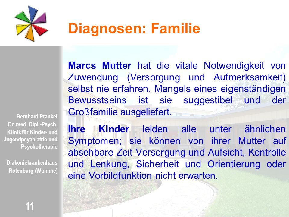 Diagnosen: Familie