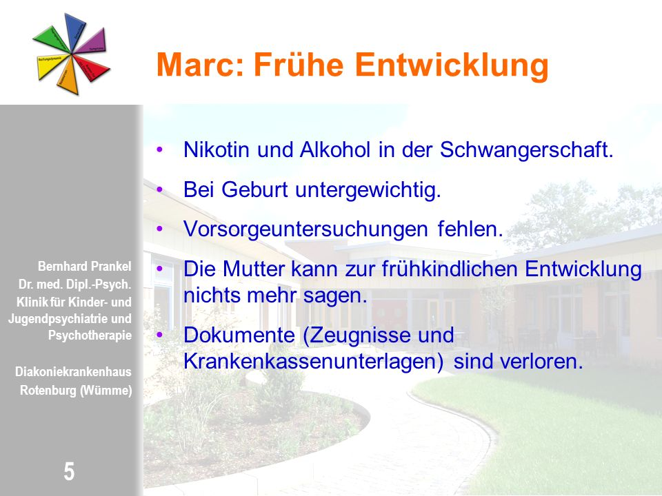 Marc: Frühe Entwicklung
