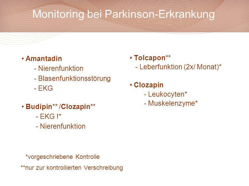 Monitoring bei Parkinson-Erkrankung