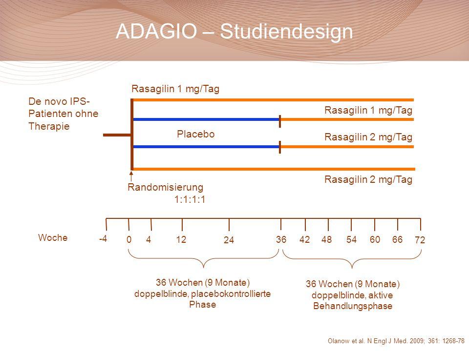 ADAGIO – Studiendesign