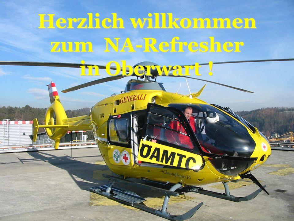 Herzlich willkommen zum NA-Refresher in Oberwart !