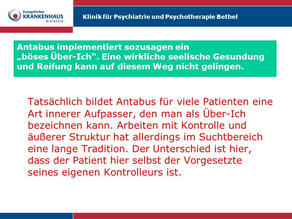 """Antabus implementiert sozusagen ein """"böses Über-Ich"""