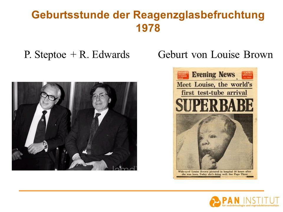 Geburtsstunde der Reagenzglasbefruchtung 1978
