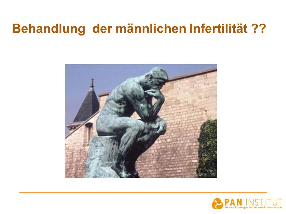Behandlung der männlichen Infertilität