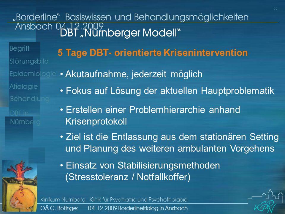 "DBT ""Nürnberger Modell"