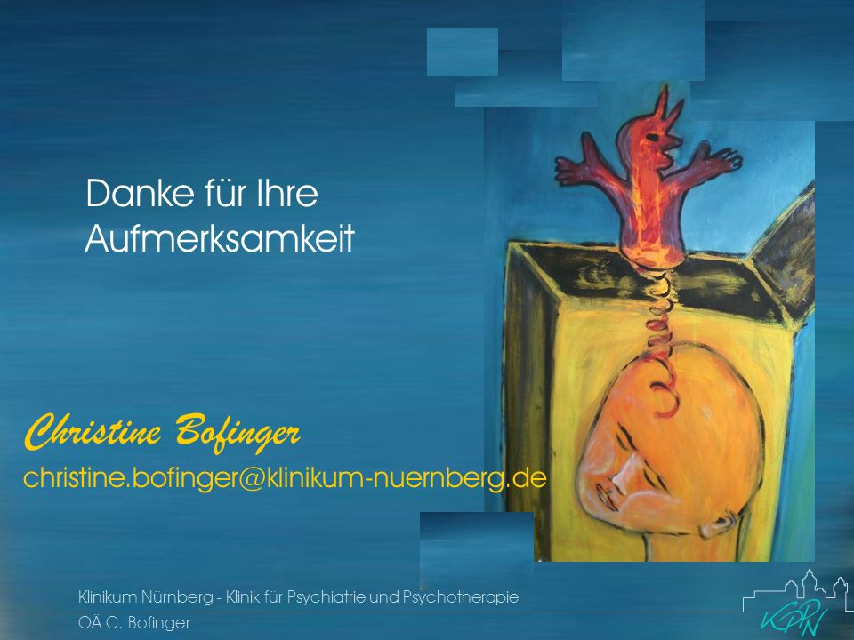 Christine Bofinger christine.bofinger@klinikum-nuernberg.de