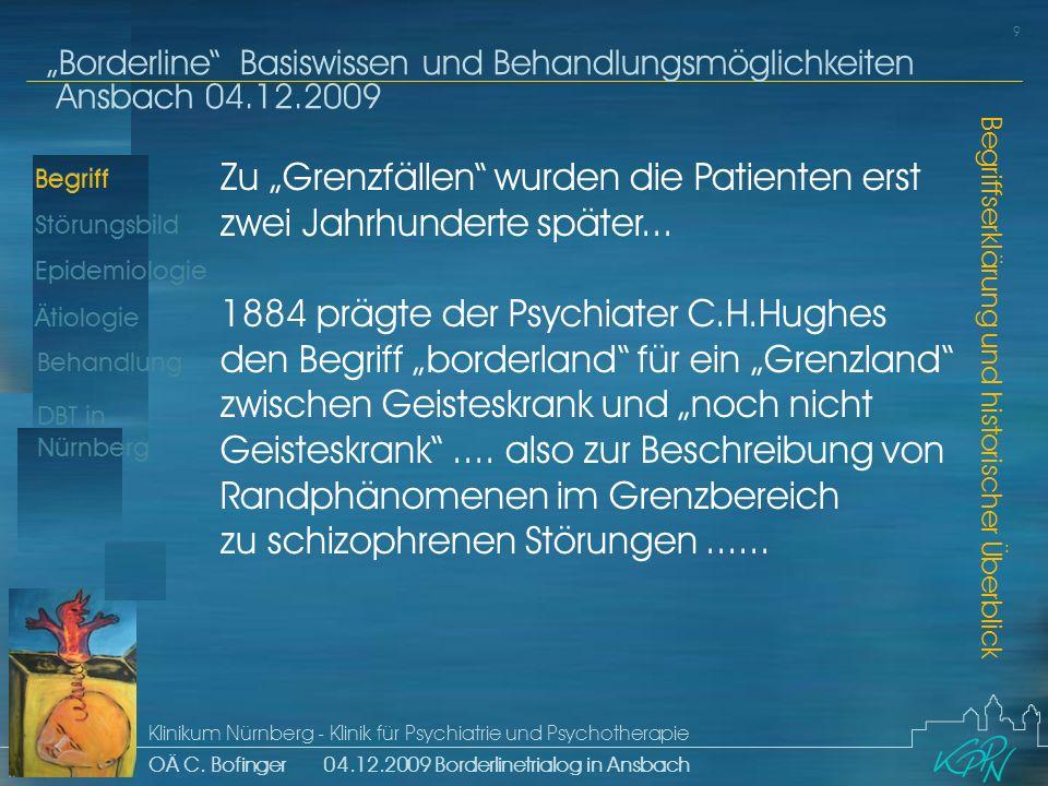 """Zu """"Grenzfällen wurden die Patienten erst zwei Jahrhunderte später..."""