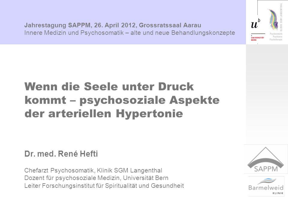 Jahrestagung SAPPM, 26. April 2012, Grossratssaal Aarau