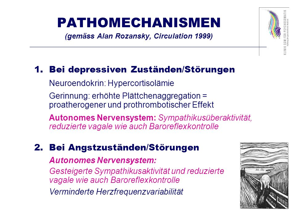 PATHOMECHANISMEN (gemäss Alan Rozansky, Circulation 1999)