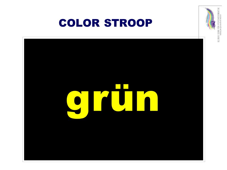COLOR STROOP grün