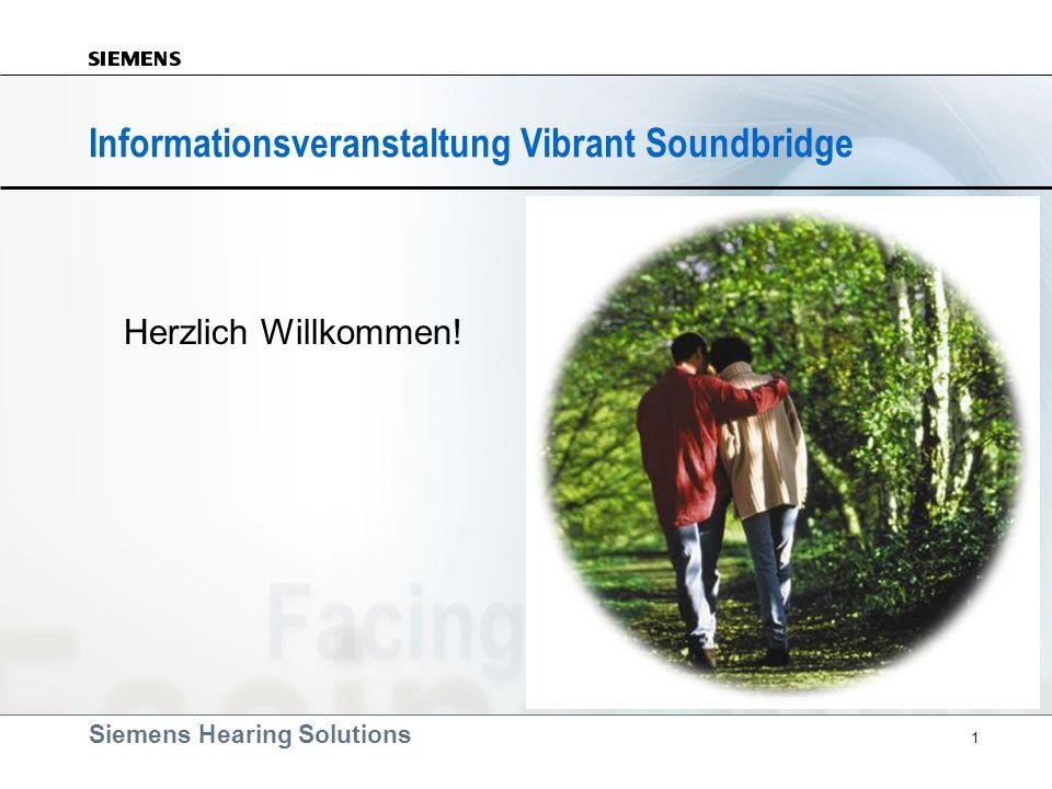 Informationsveranstaltung Vibrant Soundbridge
