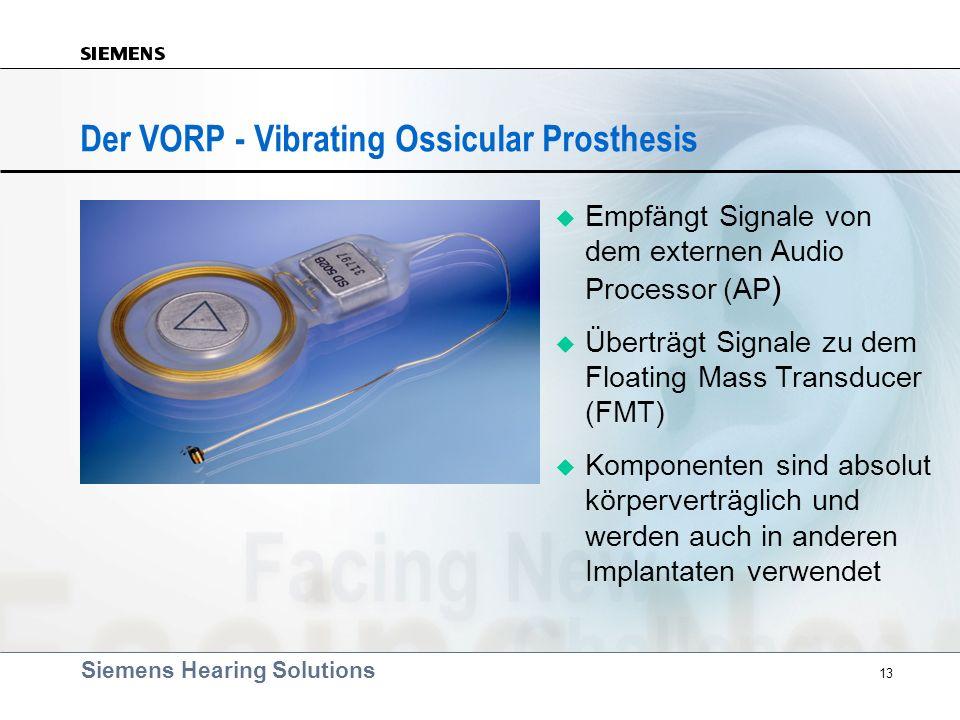 Der VORP - Vibrating Ossicular Prosthesis