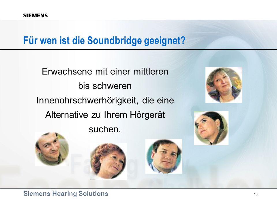 Für wen ist die Soundbridge geeignet