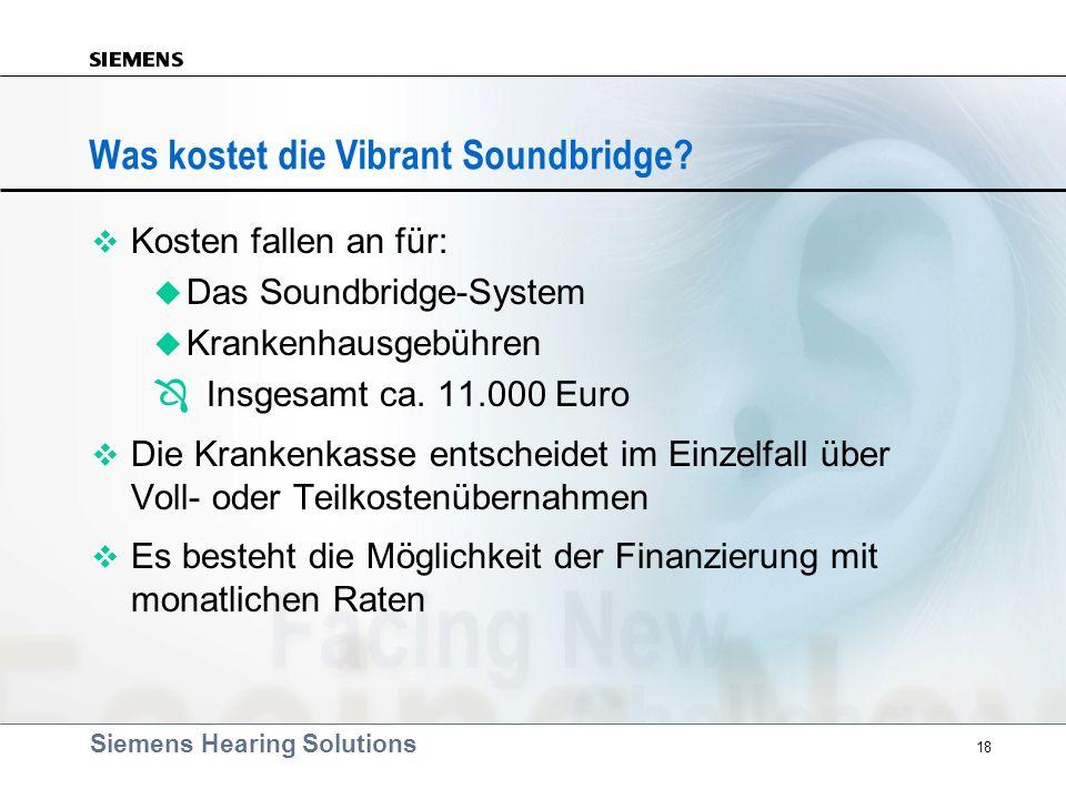 Was kostet die Vibrant Soundbridge
