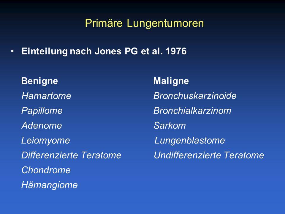 Primäre Lungentumoren