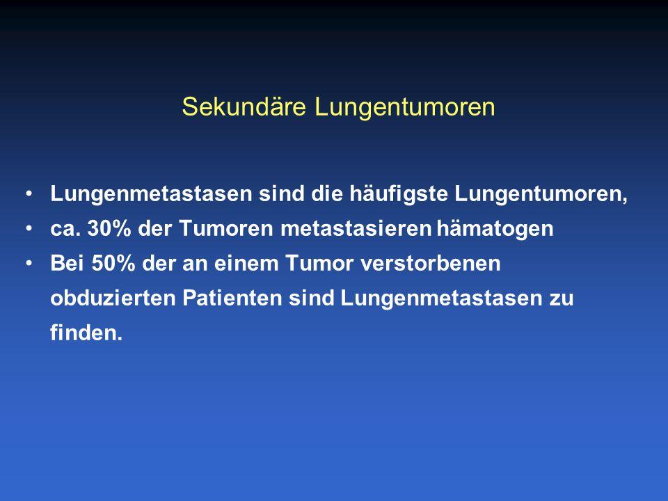 Sekundäre Lungentumoren