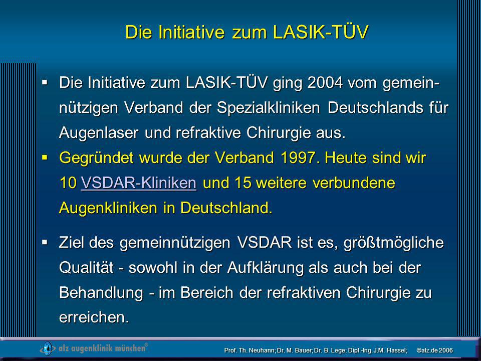 Die Initiative zum LASIK-TÜV