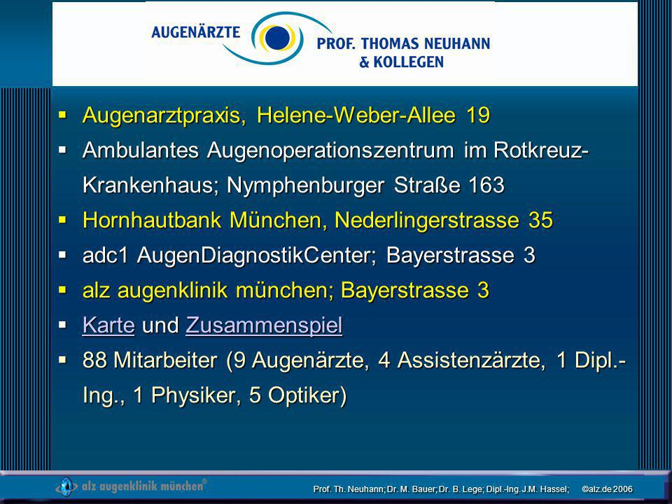 Augenarztpraxis, Helene-Weber-Allee 19