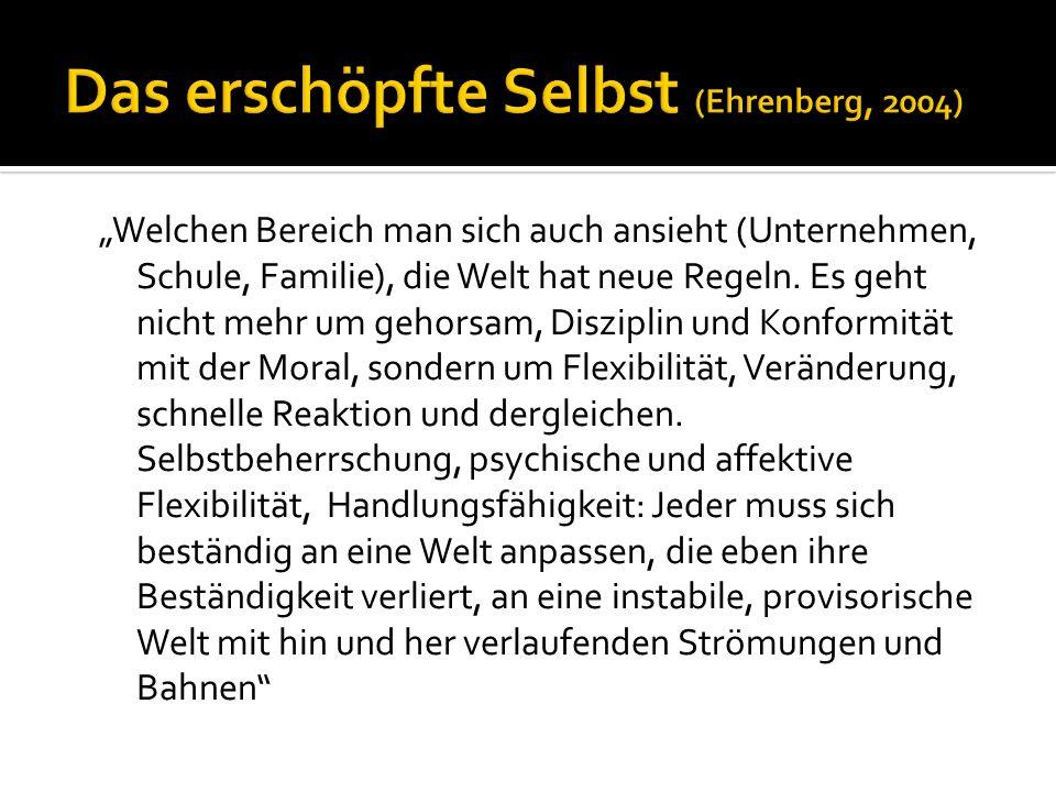 Das erschöpfte Selbst (Ehrenberg, 2004)
