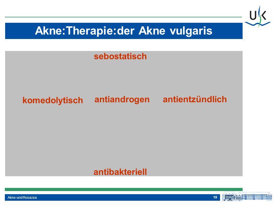 Akne:Therapie:der Akne vulgaris