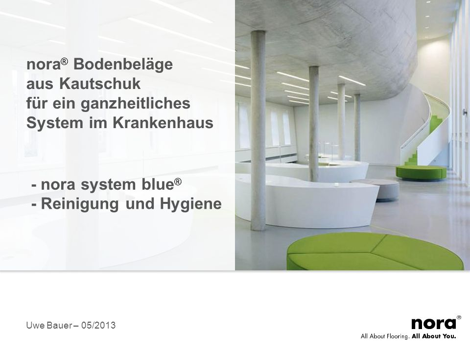 Was ist nora system blue®