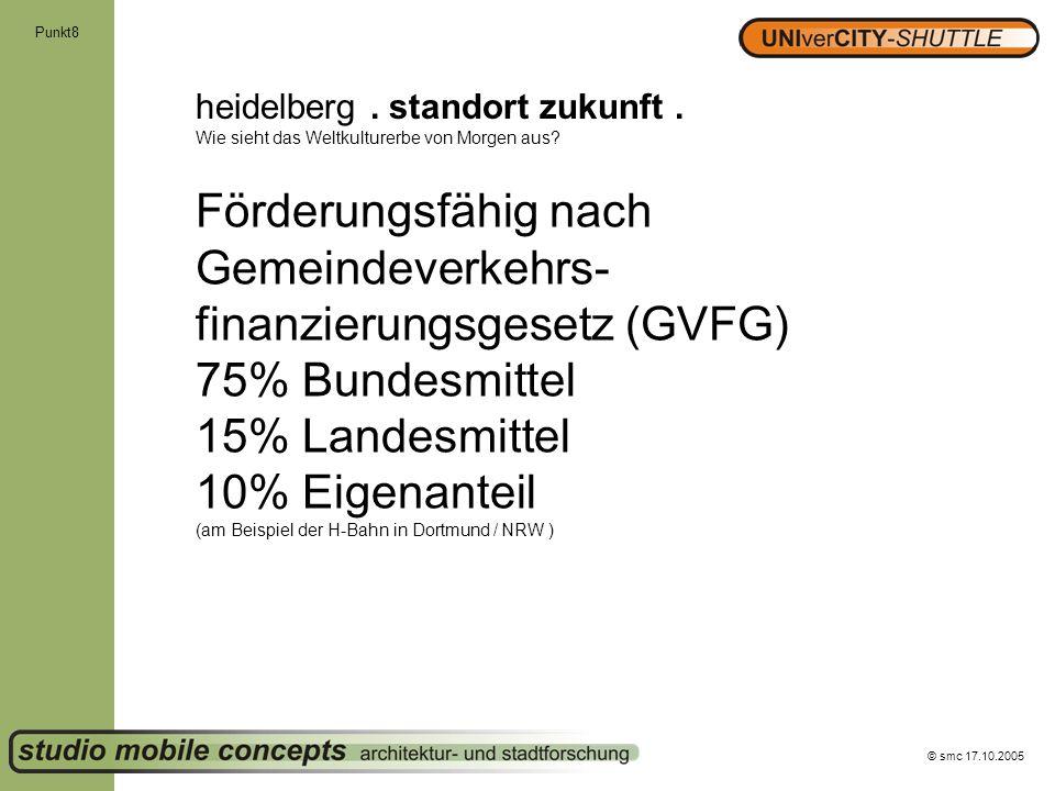 Förderungsfähig nach Gemeindeverkehrs-finanzierungsgesetz (GVFG)