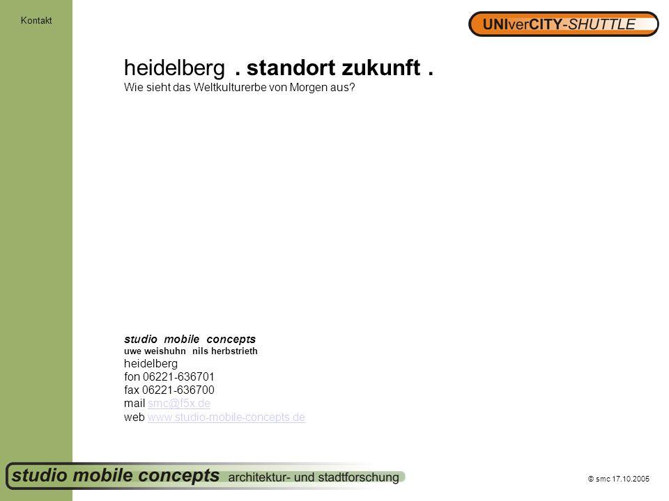 Kontakt heidelberg . standort zukunft . Wie sieht das Weltkulturerbe von Morgen aus