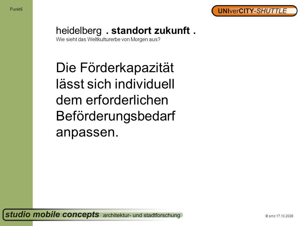 Punkt6 heidelberg . standort zukunft . Wie sieht das Weltkulturerbe von Morgen aus